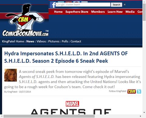 ハイドラがシールドを装うドラマ「エージェント・オブ・シールド」シーズン2 エピソード6の映像が公開!
