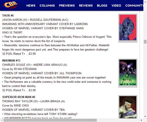 過去から忍び寄る幻影!スペリアー・アイアンマン #6のプレビュー!