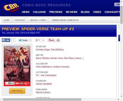 メイおばさんがスパイダーマン!?スパイダーバース・チームアップ #3のプレビュー画像が更新!