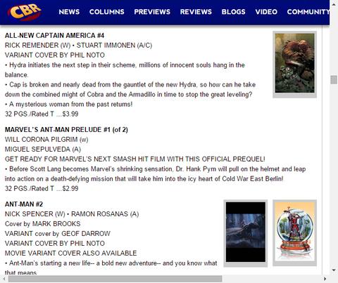 コブラとアルマジロのコンビを倒しハイドラの計画を阻止せよ!オールニュー・キャプテン・アメリカ #4のプレビュー!