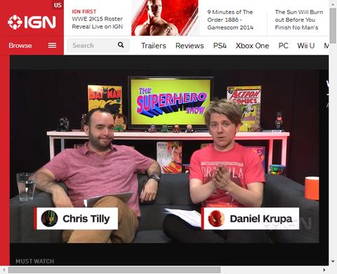 IGNがスーパーヒーローショウをアップ!今回はガーディアンズ・オブ・ザ・ギャラクシーについて!
