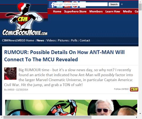 噂:アントマンがMCUとどうのように繋がるのかという可能性の詳細!