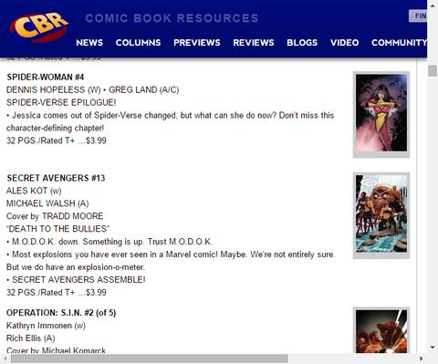 スパイダーバースのエピローグ!スパイダーウーマン #4のプレビュー!