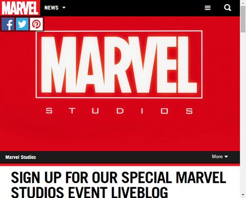 日本時間今夜にマーベルスタジオのイベントのライブブログを実施!なんの発表が来るのか!?
