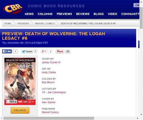 ミスティークは犯罪の生涯を終えられるか!?デス・オブ・ウルヴァリン:ローガン・レガシー #6のプレビュー!