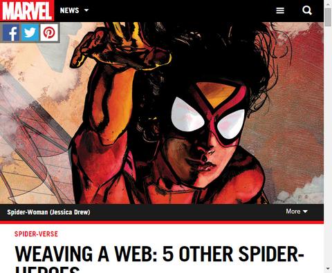 クモの巣を張る:5人の他のスパイダーヒーローを振り返る!