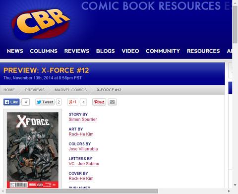 X-Forceが追っていたヴィランはあまりによく知る顔!X-Force #12のプレビュー画像!