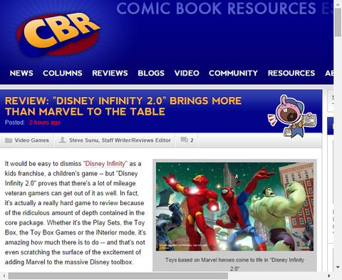 「ディズニー・インフィニティ 2.0」はテーブルへより多くのマーベルを持ってくる!