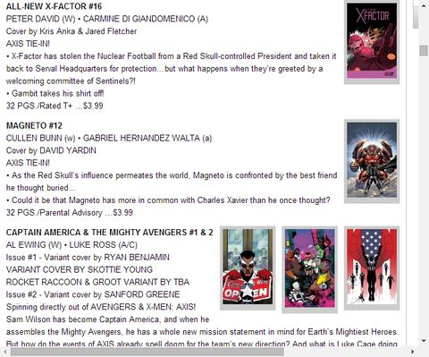 オールニュー・X-FACTOR #16のプレビュー!