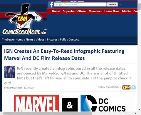 マーベル映画とDC映画のリリース予定、噂の公開日を比較!