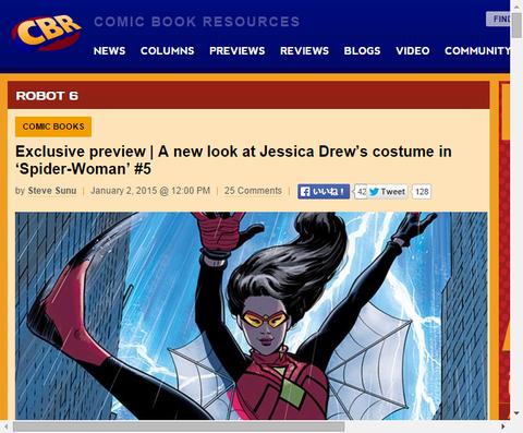 スパイダーウーマン #5のプレビュー画像が公開!