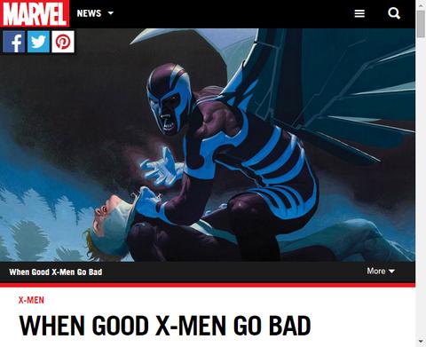良きX-MENが悪になる時!4人のX-MENキャラクターを振り返る!