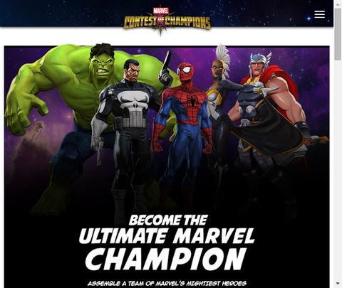 いよいよスマホ向けゲーム「マーベル:コンテスト・オブ・チャンピオンズ」がリリース開始!