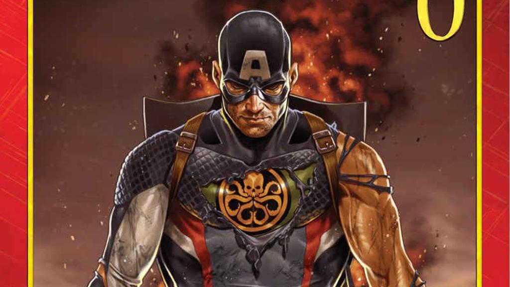 今キャプテン・アメリカの計画が動き出す!『シークレット・エンパイア』#0のプレビューが公開!
