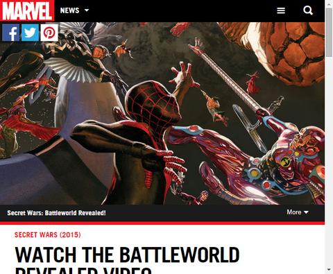 【速報】クロスオーバー「シークレット・ウォーズ」の新たな映像が公開!オールニュー・マーベルとは!?今までのティザー画像と関連が!
