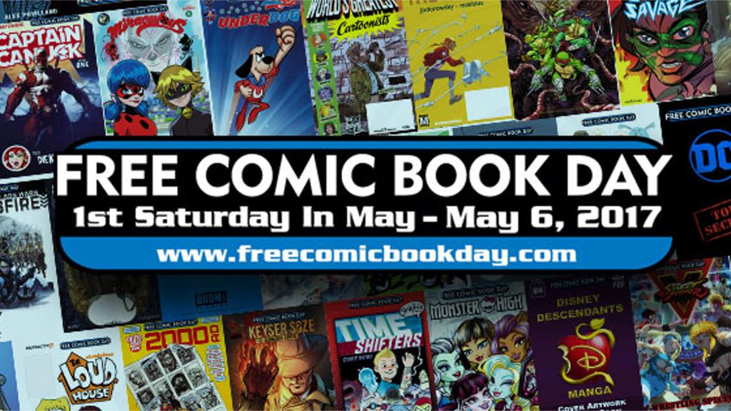 無料でコミックが貰えるイベント『フリーコミックブックデイ』がブリスターコミックスとヴァースコミックスでも開催!