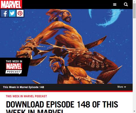 ディス・ウィーク・イン・マーベル エピソード#148が更新!