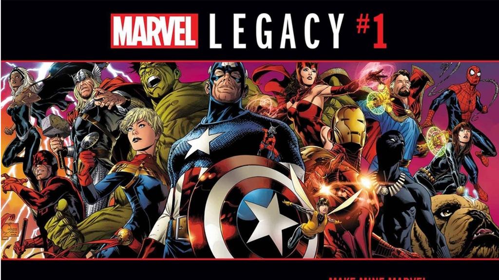 マーベル・レガシーからの全てのタイトルが判明!継続するタイトルや新たなシリーズが開始!
