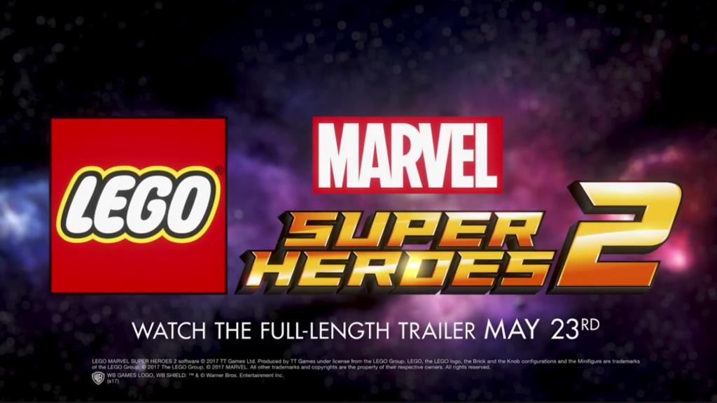 新たなゲーム『レゴ マーベル  スーパー・ヒーローズ2』の発売を正式発表!