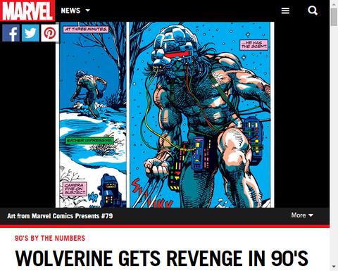 ウルヴァリンの90年代を数で振り返る!
