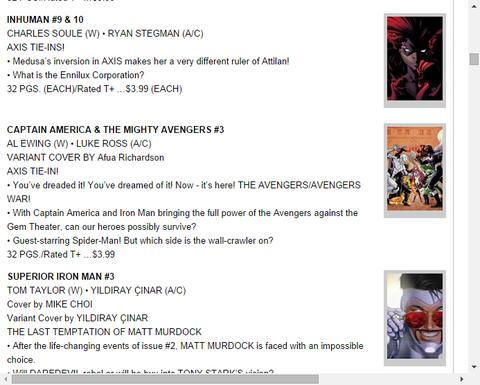 キャプテン・アメリカ & ザ・マイティ・アベンジャーズ #3のプレビュー!