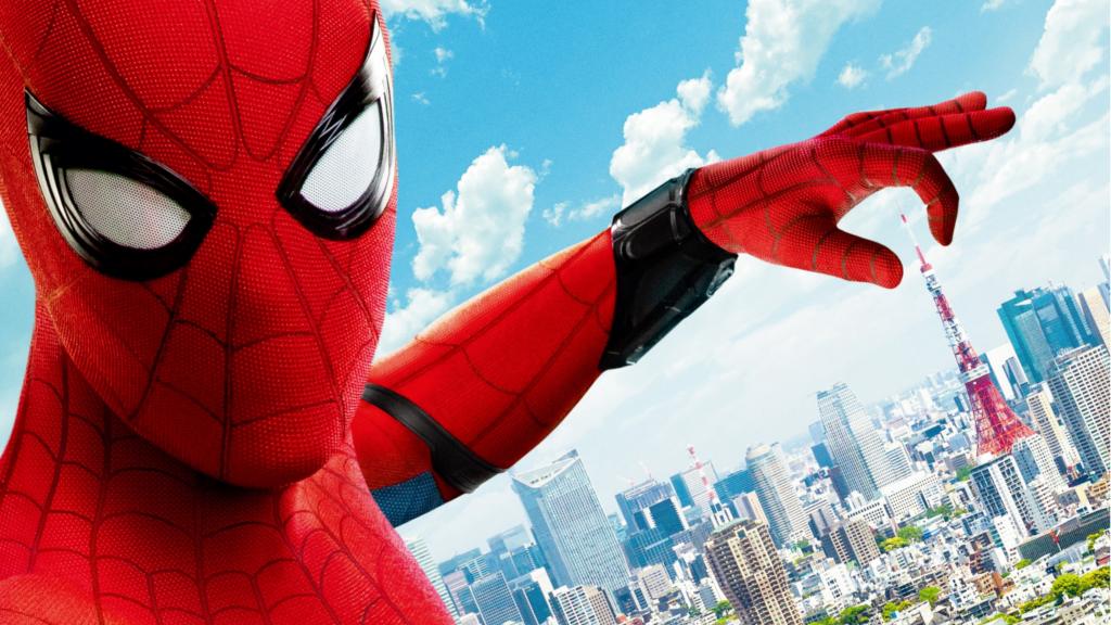 映画『スパイダーマン:ホームカミング』から日本5大都市のランドマークタワーをつまみ上げるポスターが公開!