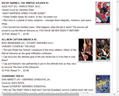 ウィンター・ソルジャーは新たな惑星を訪れる!バッキー・バーンズ:ウィンター・ソルジャー #3のプレビュー!