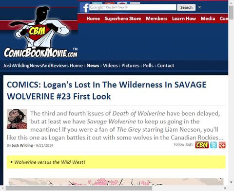 サベッジ・ウルヴァリン #23のプレビュー!