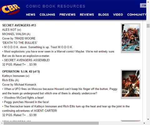 モードックを信用できる!?シークレット・アベンジャーズ #13のプレビュー!