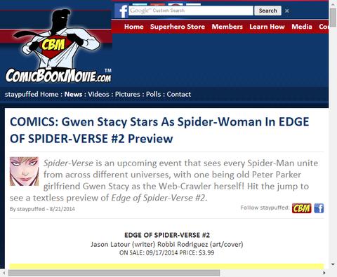 エッジ・オブ・スパイダーバース #2のプレビュー!