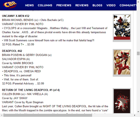 サイクロプスは自信を破滅させるのか?アンキャニー・X-MEN #32のプレビュー!