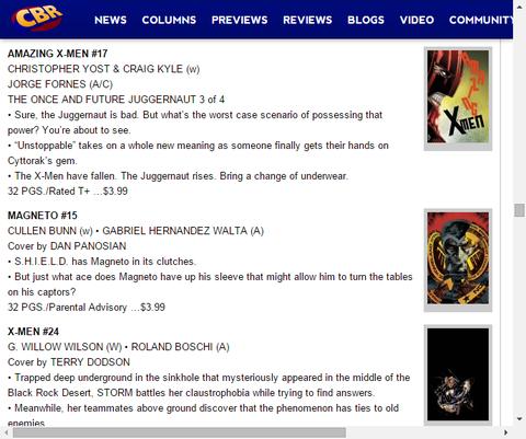 マグニートーはシールドに捕まる!マグニートー #15のプレビュー!