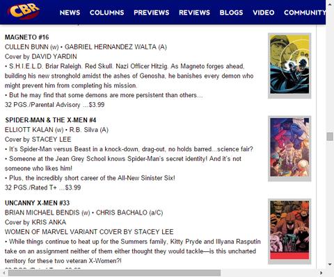 新たなシニスター・シックスのあまりにも短い職歴!スパイダーマン & ジ・X-MEN #4のプレビュー!