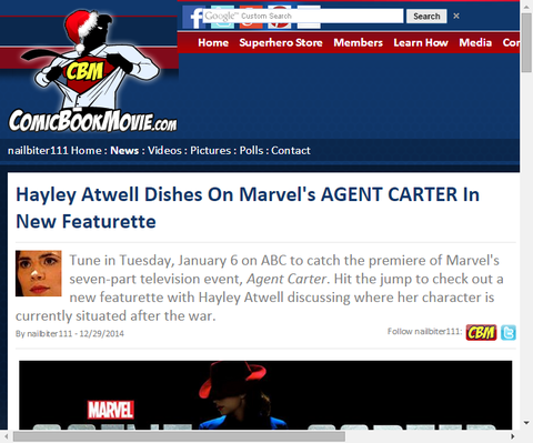ヘンリー・アットウェルのインタビューをフィーチャーしたドラマ「エージェント・カーター」の新たなクリップ映像!