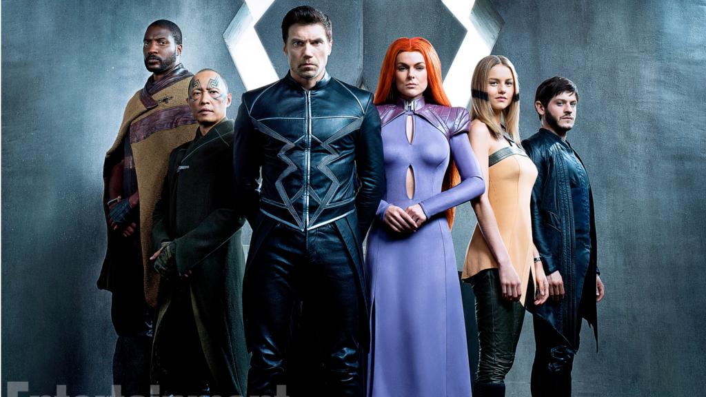 新ドラマ『インヒューマンズ』のキャスト人による画像が公開!コミックをベースとしたコスチュームが特徴的!
