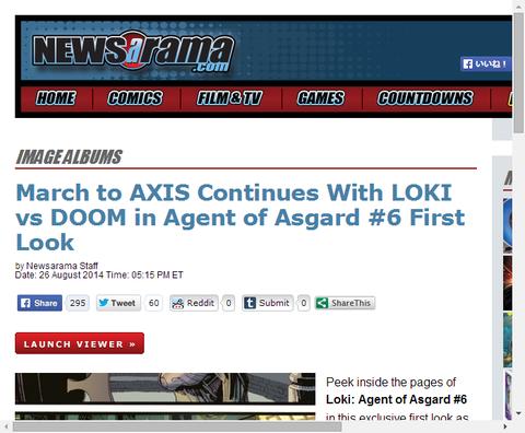ロキ:エージェント・オブ・アスガード #6のプレビュー!