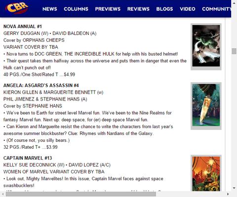 宇宙海賊との戦い!キャプテン・マーベル #13のプレビュー!