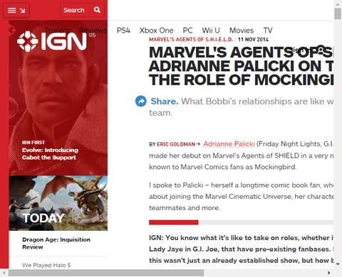 IGNによるモッキンバードを演じるエイドリアン・パリッキのインタビュー!