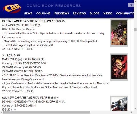 コルテックス社に起こっていることとは!?キャプテン・アメリカ & ザ・マイティ・アベンジャーズ #5のプレビュー!