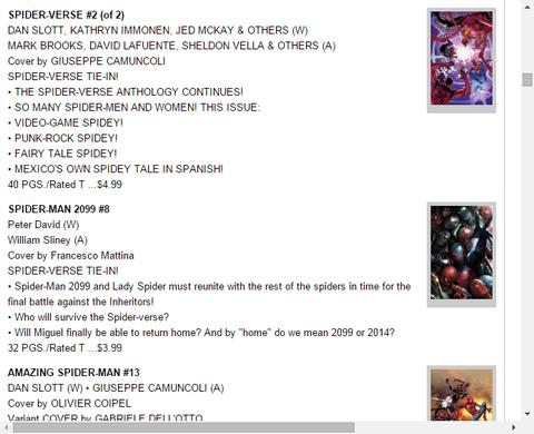 色んなスパイディが登場!スパイダーバース #2のプレビュー!
