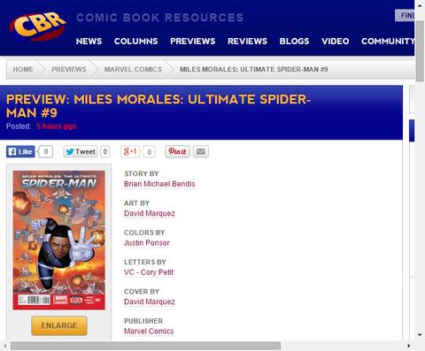 マイルズがシールドのエージェント!?マイルズ・モラレス:アルティメット・スパイダーマン #9のプレビュー画像が更新!