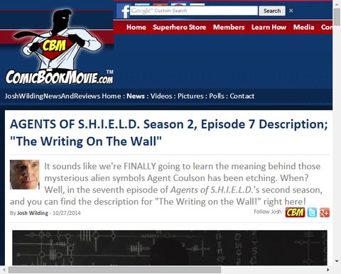 ドラマ「エージェント・オブ・シールド」シーズン2 エピソード7のストーリーが判明!