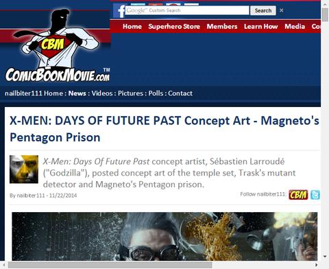映画「X-MEN:デイズ・オブ・フューチャー・パスト」の施設等のコンセプトアートが公開!