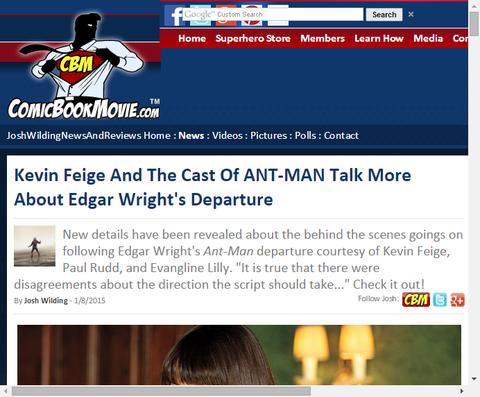 ケビン・フェイジとポール・ラッドは最初の脚本を書いたエドガー・ライトについて話す!