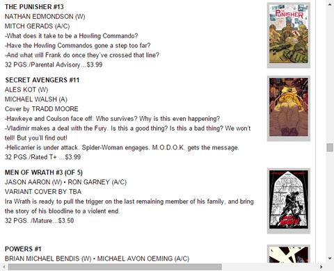 ウラジミールとフューリーの取引とは!?シークレット・アベンジャーズ #11のプレビュー!