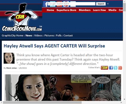 ヘンリー・アットウェルは「エージェント・カーター」が驚かせると話す!