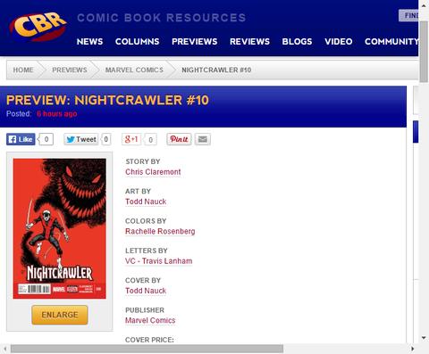 心の闇を克服しろ!ナイトクローラー #10のプレビュー画像が更新!