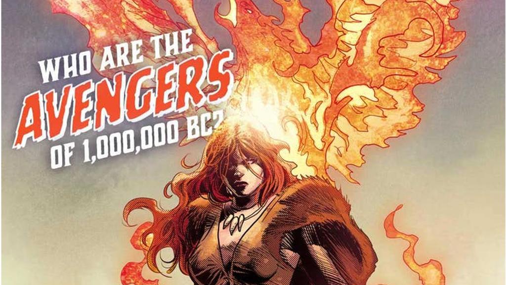 マーベル・レガシー #1で登場する紀元前100万年のフェニックス、アイアンフィスト、アガモットが公開!