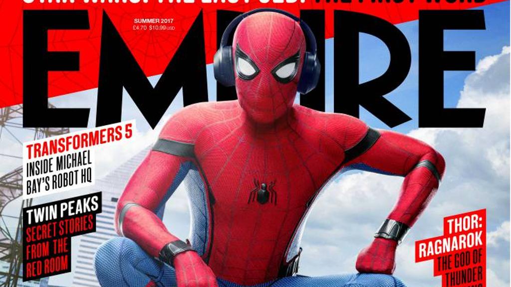 映画『スパイダーマン:ホームカミング』が表紙を務める「エンパイア」最新号のカバー公開!