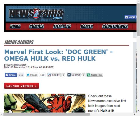 ハルク #10のプレビュー画像が公開!